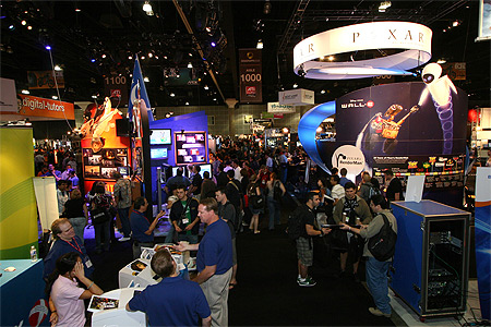 SIGGRAPH 2012 Exhibition Numbers Surging