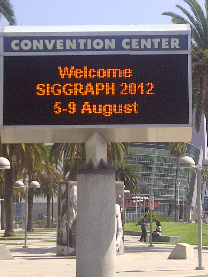 Important SIGGRAPH 2012 Reminders for Attendees