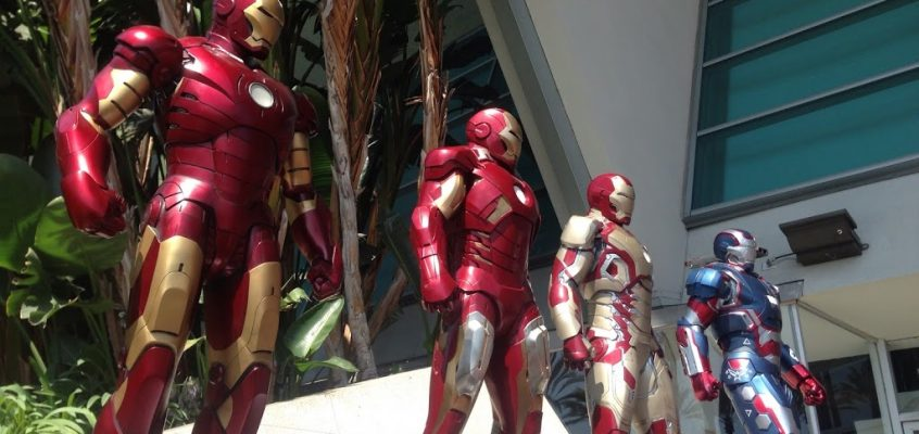 Photos of the Day: Iron Man Maquettes Land @ SIGGRAPH 2013