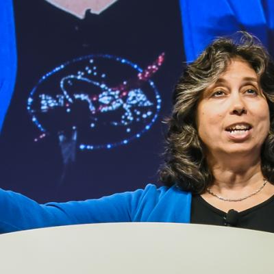 Z. Nagin Cox, SIGGRAPH 2016 Keynote Speaker. Photo courtesy John Fujii