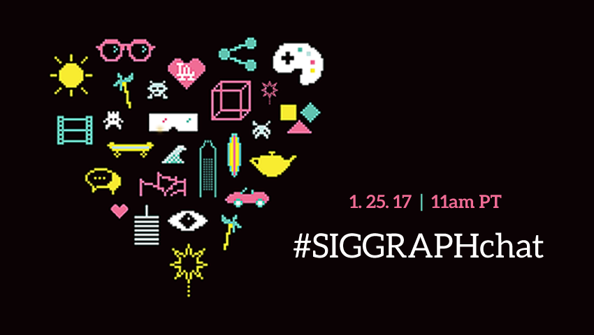 Call for Submissions #SIGGRAPHchat