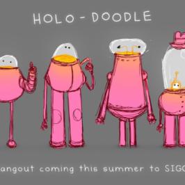 SIGGRAPH Spotlight: Episode 4 – VR Village 'HOLO-DOODLE'