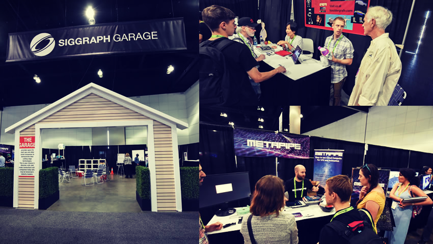 The Garage at SIGGRAPH 2017