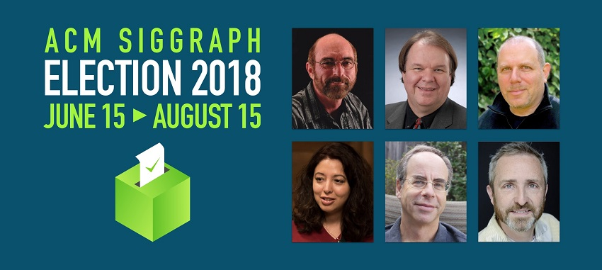 Important Election for ACM SIGGRAPH