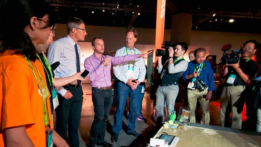 SIGGRAPH 2014 Emerging Technologies Media Tour