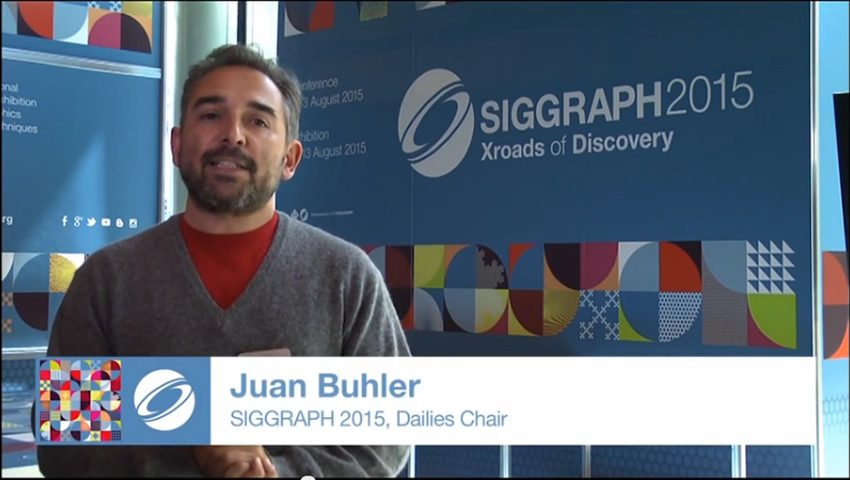 Dailies at SIGGRAPH: Behind the Art