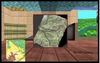 Terrain Gallery created by Theresa-Marie Rhyne, 2001