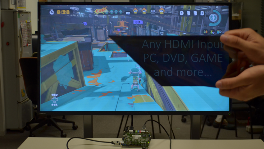 ExPixel FPGA Multiplex Hidden Imagery for HDMI Video Sources
