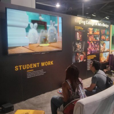 Students at SIGGRAPH 2016