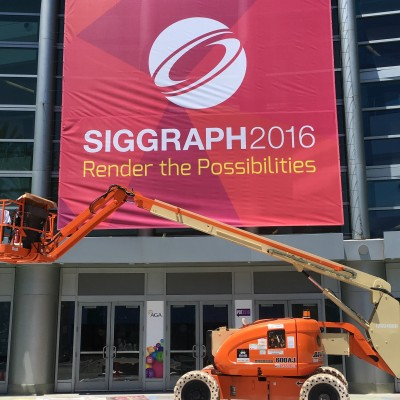 SIGGRAPH in the house!