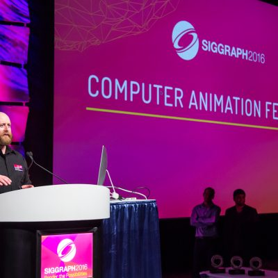 Computer Animation Chair Roy C. Anthony. Z. Nagin Cox, SIGGRAPH 2016 Keynote Speaker