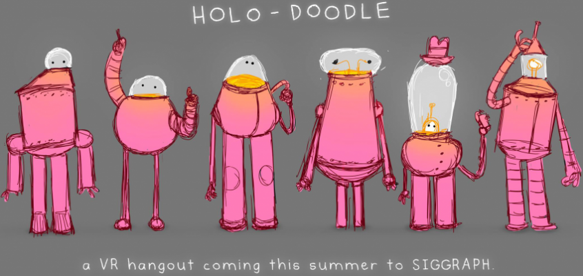 SIGGRAPH Spotlight: Episode 4 – VR Village 'HOLO-DOODLE'