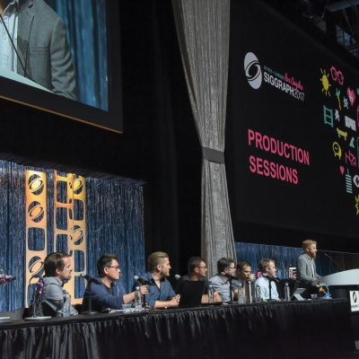 "Blizzard ""Overwatch"" Production Session panelists"