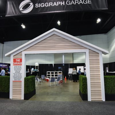 "Start-up ""Garage"" in the 2017 Exhibtion"
