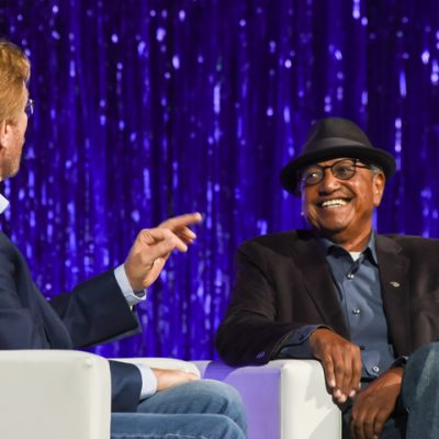 Steve Waskul and Keynote Floyd Norman