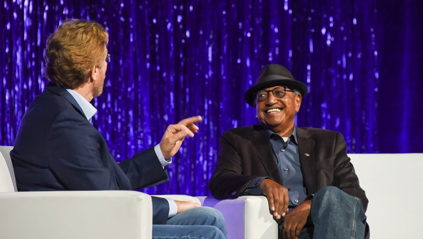 Floyd Norman at SIGGRAPH 2017