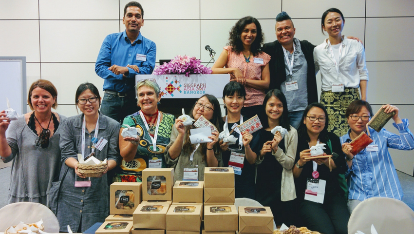 Female Force at SIGGRAPH Asia 2017