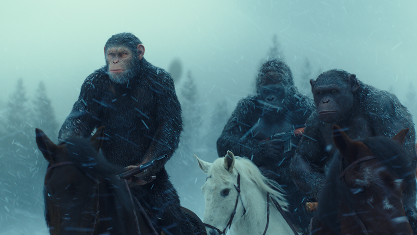 War fo rthe Planet of the Apes, Weta Digital