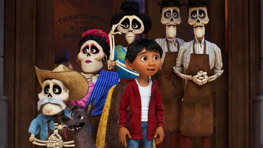 Bringing the Skeletons of 'Coco' to Life