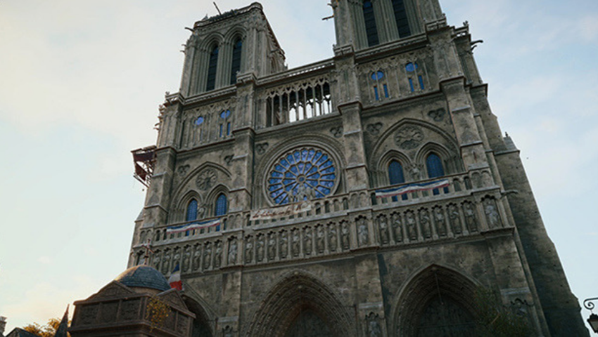 How Ubisoft Re-created Notre Dame for 'Assassin's Creed Unity'