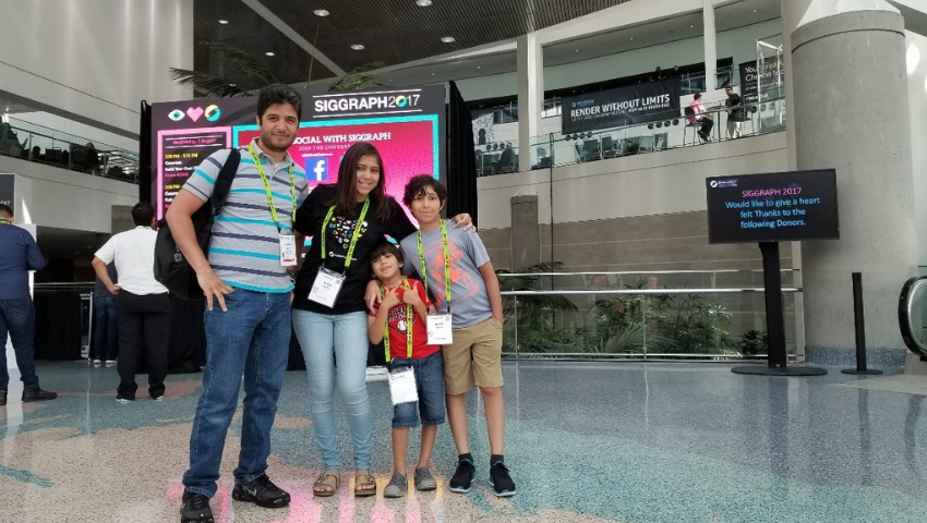 'Why I Bring My Kids to SIGGRAPH,' One Parent's Journey