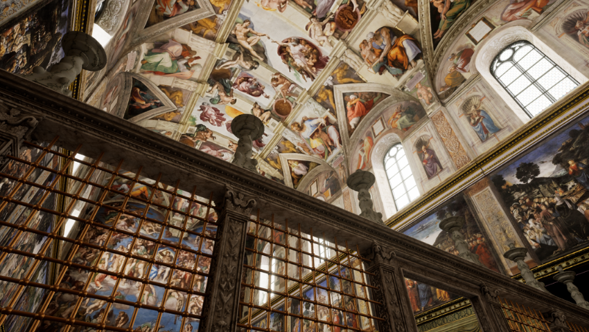 SIGGRAPH 2019 Exclusive: Experience the Sistine Chapel in VR