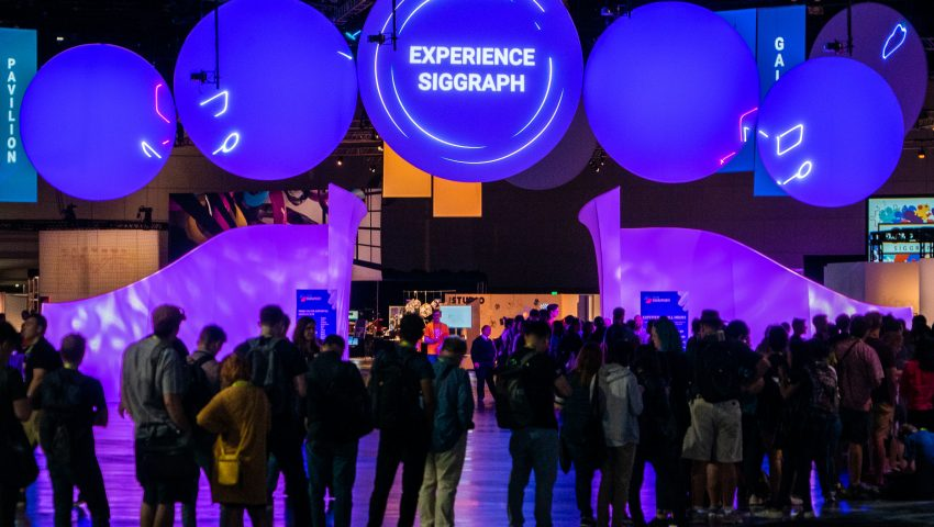 Experience SIGGRAPH: Photo of SIGGRAPH 2019 Experience Hall by Jim Hagarty.
