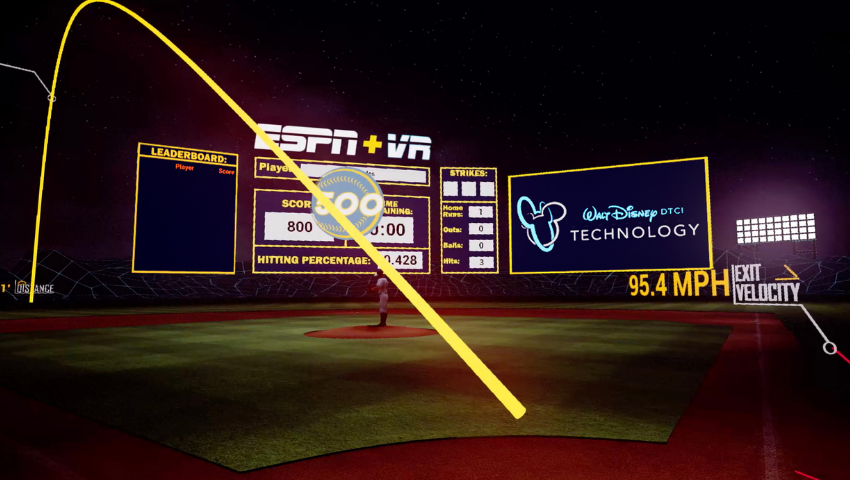 Step Up to the Plate With ESPN's Immersive VR Batting Cage