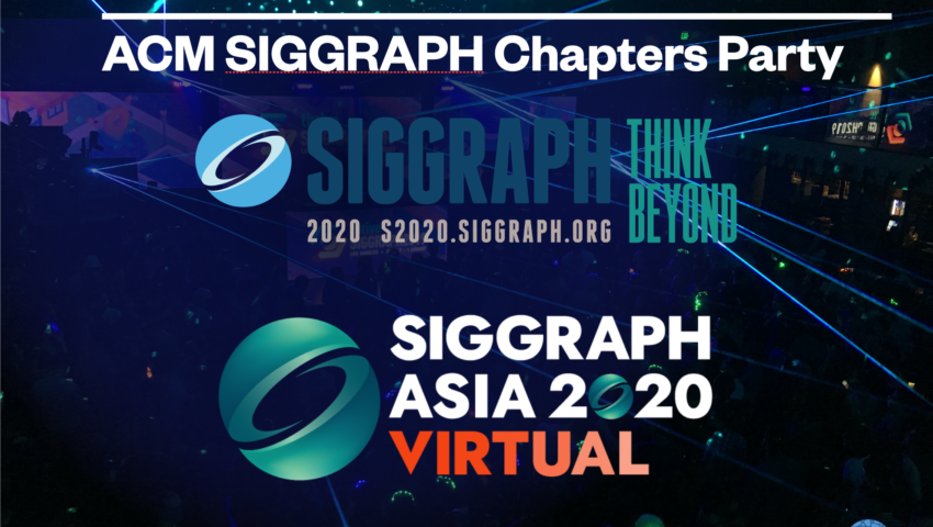 The ACM SIGGRAPH Chapters Party Finds a New (Virtual) Life in 2020