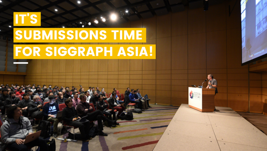 SIGGRAPH Asia Goes Hybrid – Submit Your Best Work to SIGGRAPH Asia 2021