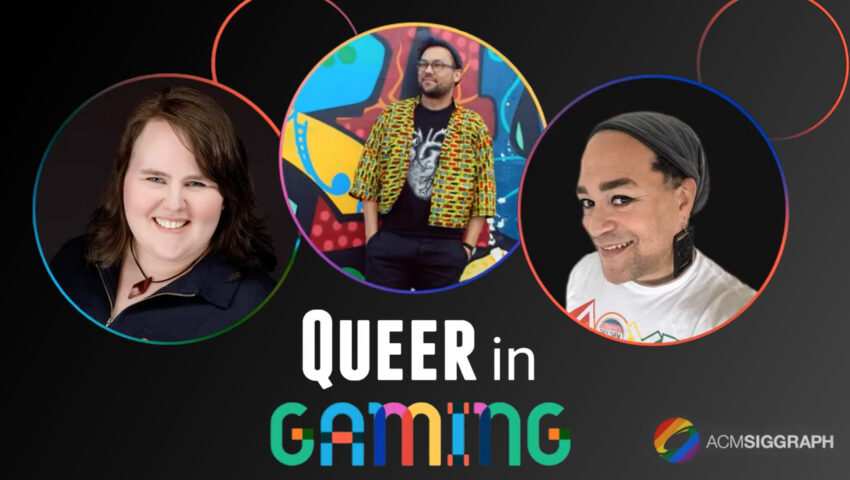 Celebrate Pride Month With the ACM SIGGRAPH Diversity, Equity and Inclusion Committee's 'Queer in Gaming' Series