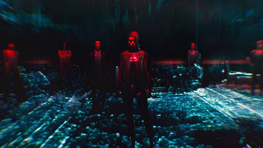 Cyberspaces and Braindances in 'Cyberpunk 2077'